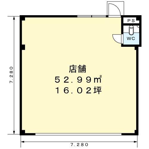 パルネット森脇店舗 101号室