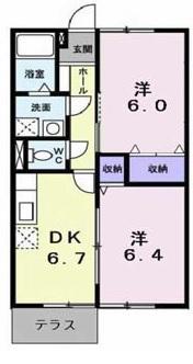 ウッドフィールドB102号室