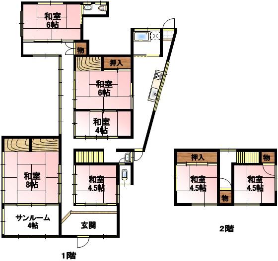井原町中古住宅 680万円
