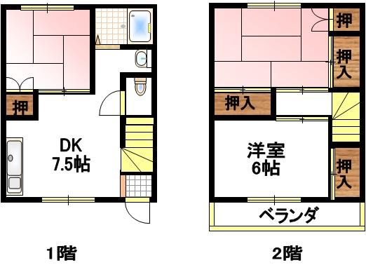 塚原コーポ 2号室