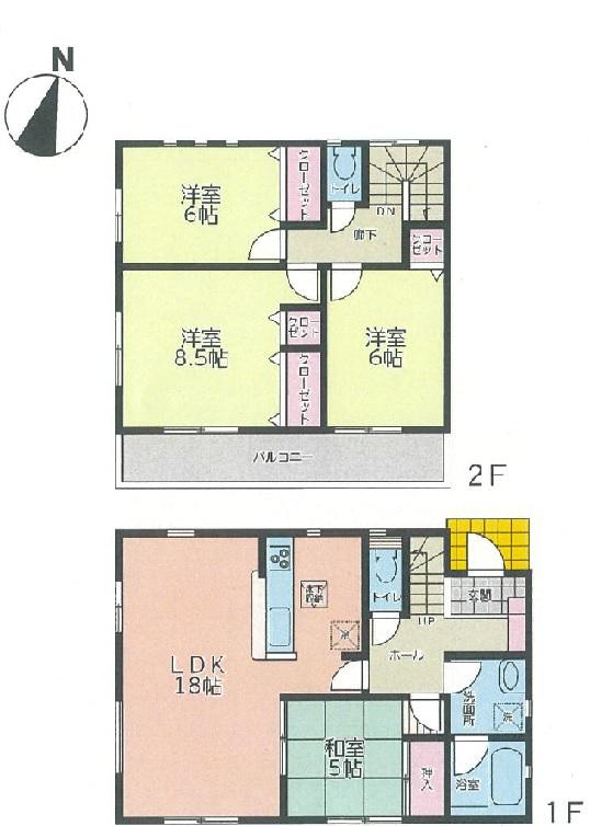 第2期西江原町新築住宅 1号棟